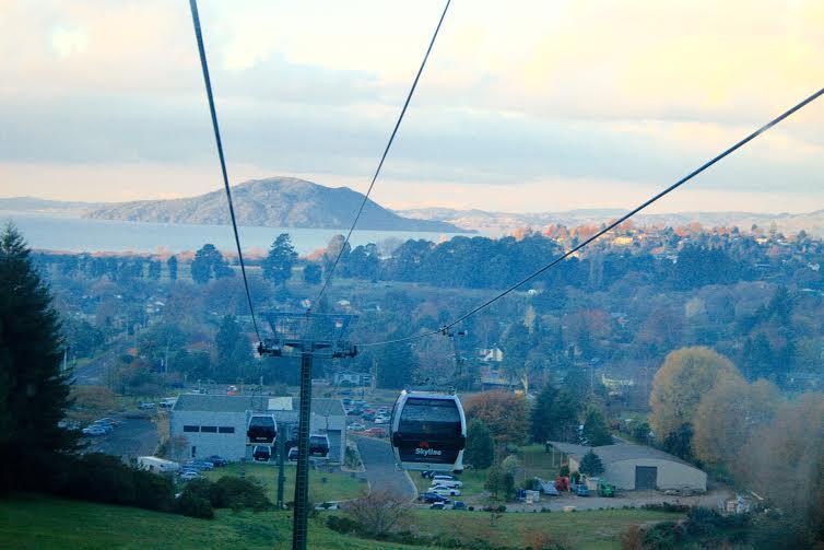 Gandola (cable car) in Rotorua