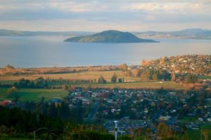 Aerial View of Rotorua