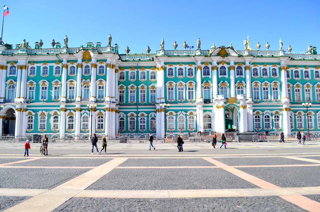 Hermitage (Winter Palace) St. Petersburg