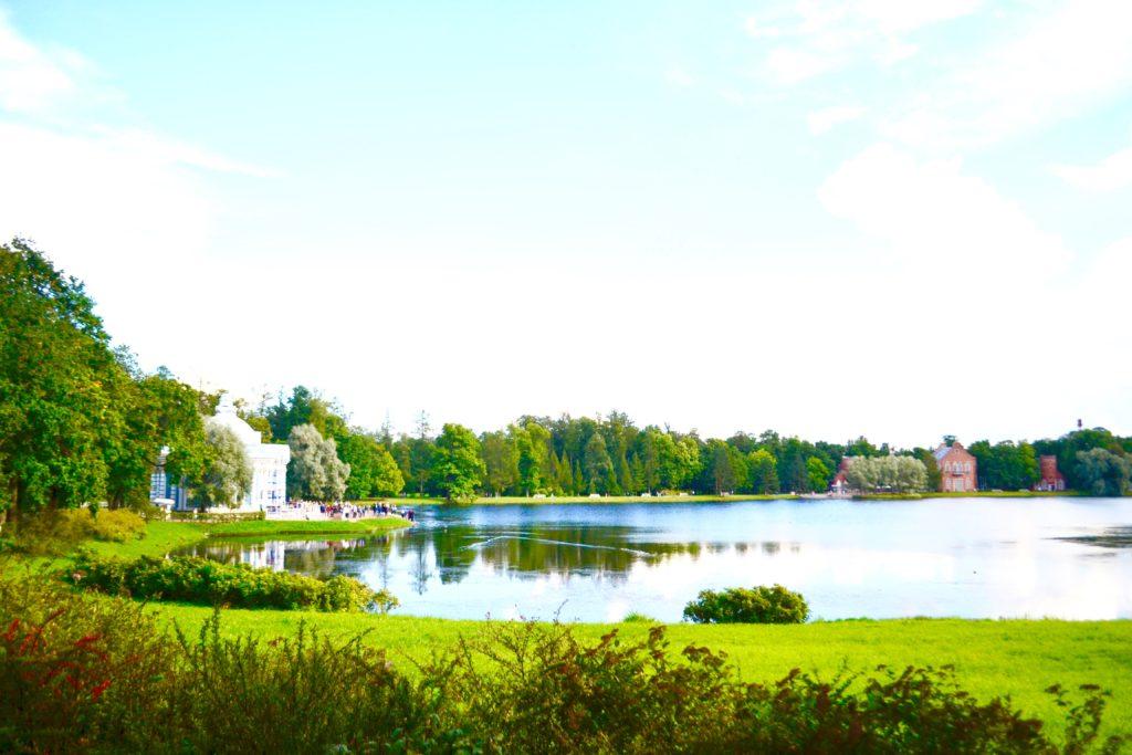 St Petersburg Catherine Palace Grounds