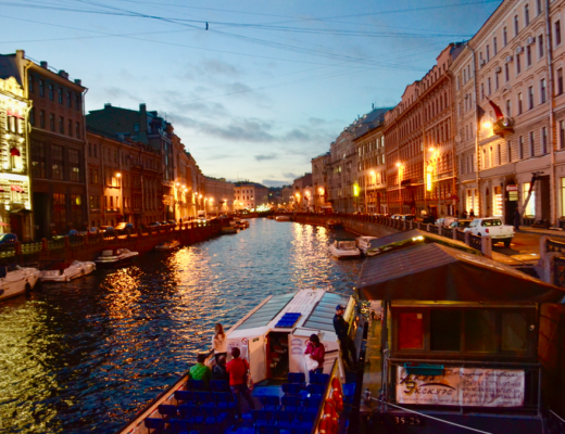 St Petersburg River Cruises