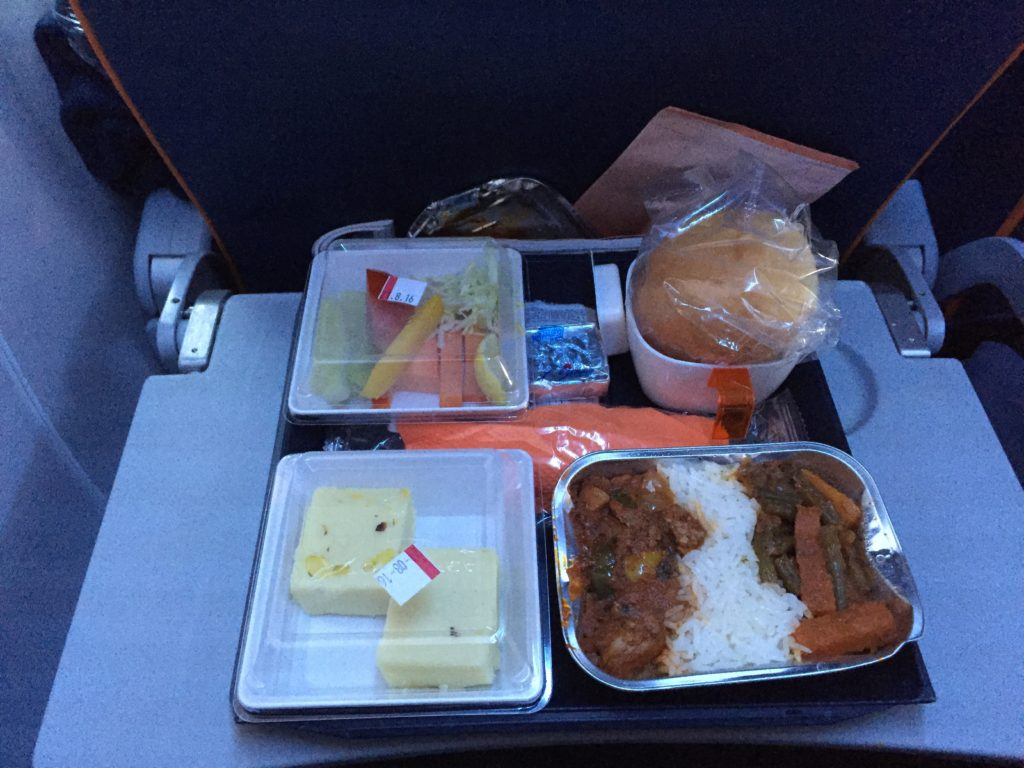 Aeroflot food