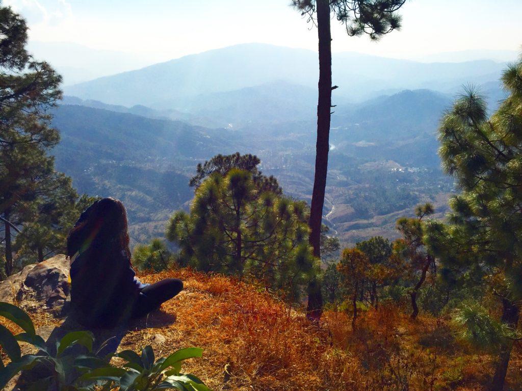 Kasar Devi Temple Almora, View