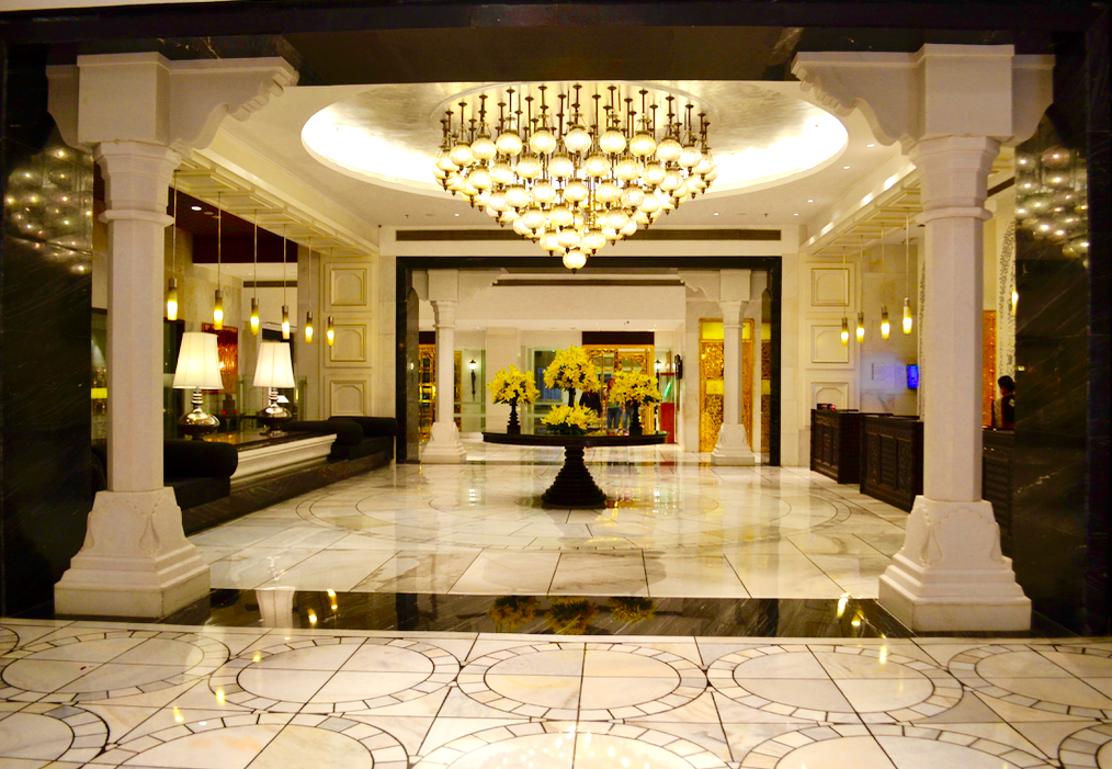 ITC Mughal Hotel Reception in Agra