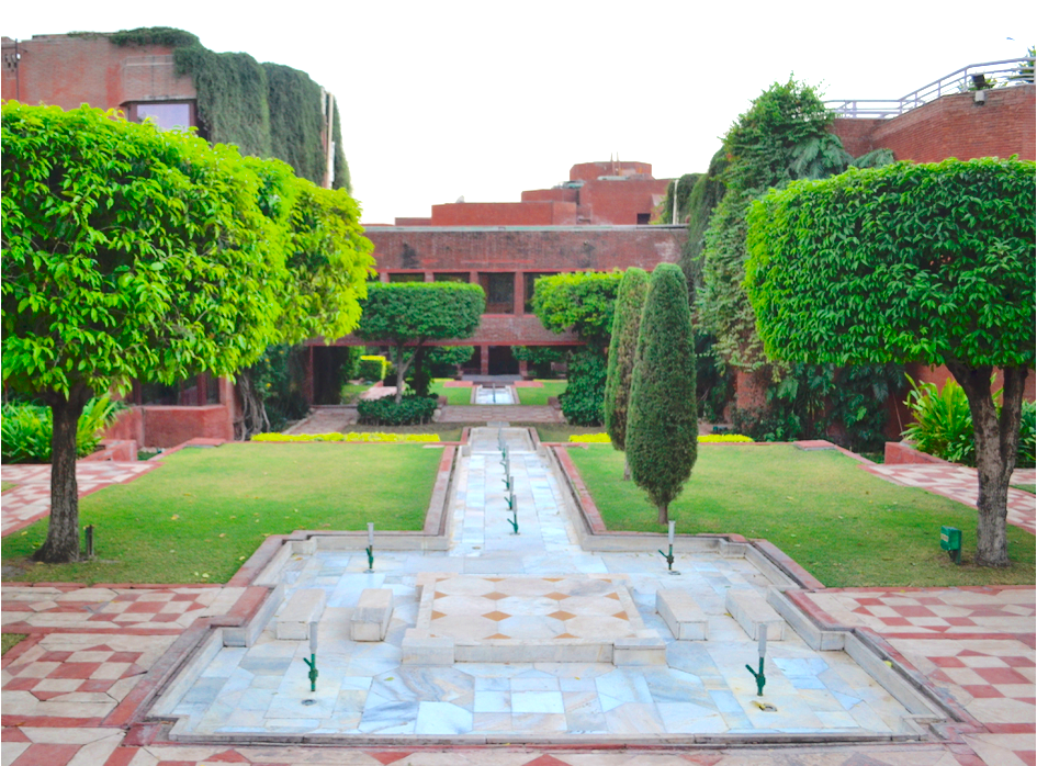The ground at ITC Mughal Agra