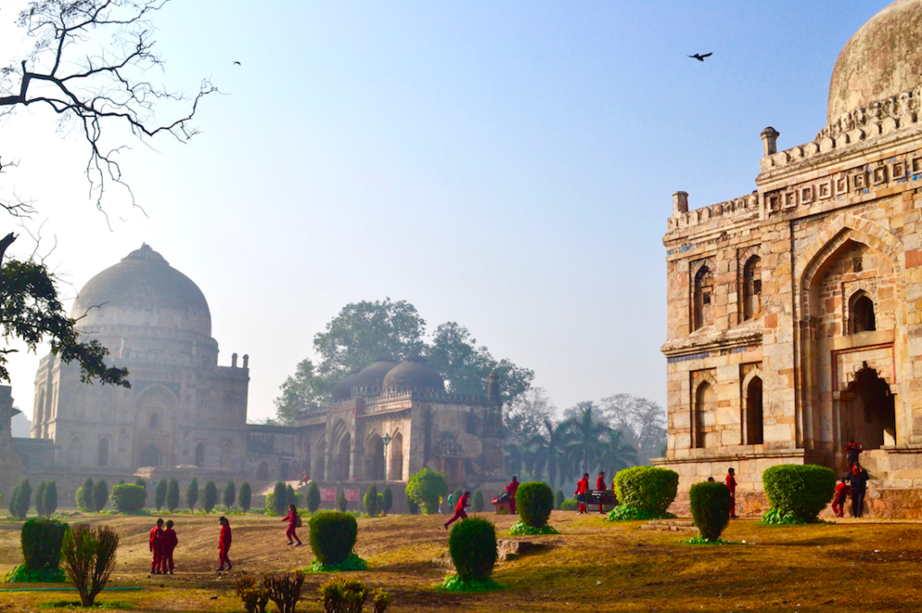 Lodhi garden winter morning