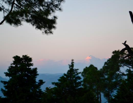 Himalayan range glimpse