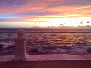 Rose Gold and Pink Sunset in Colombo