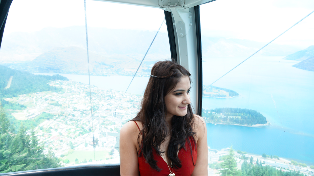 View from the Gondola Ride in Queenstown, New Zealand