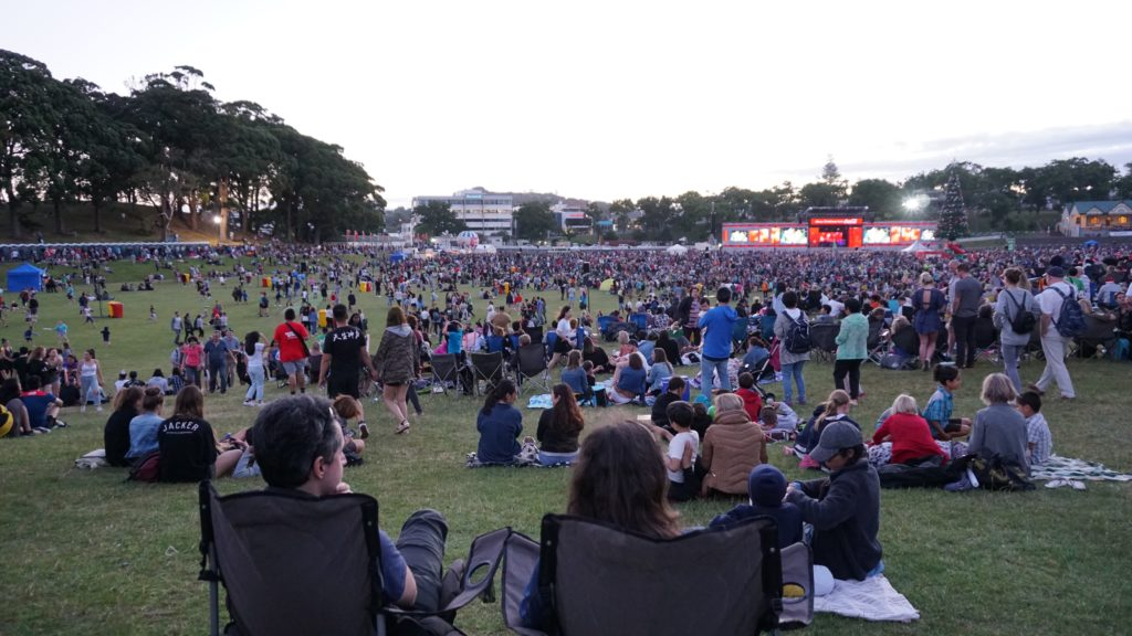 Auckland's Christmas in the Park