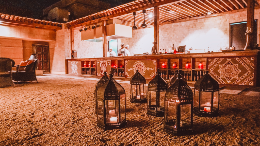 Wyra Jaisalmer Marriott Rooftop Restaurant