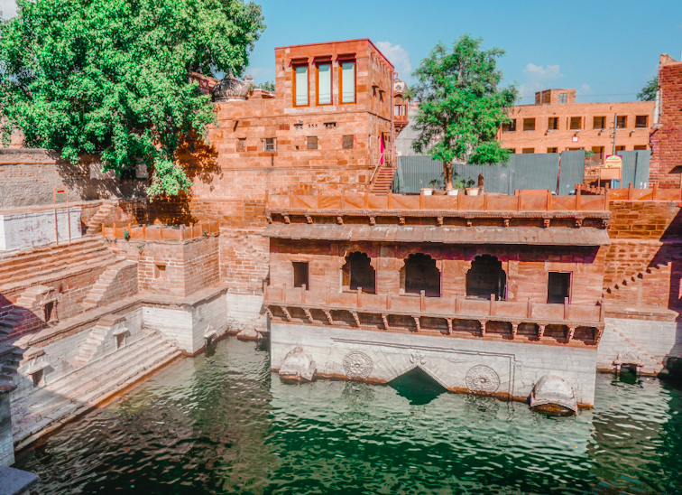 Jhalra or Chand Baoli (Stepwell) in Jodhpur