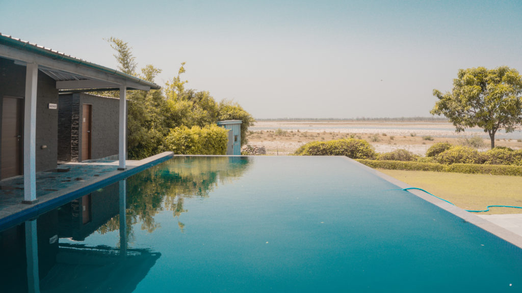 Pool at Amatra By The Ganges