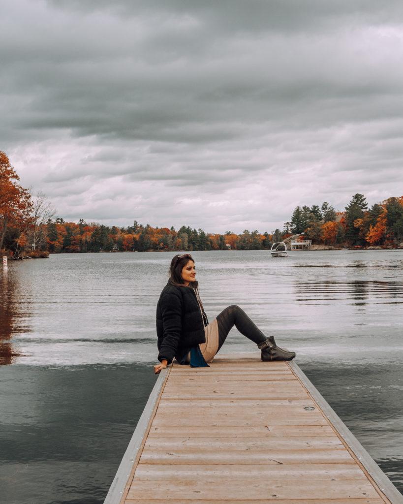 Muskoka Lake Autumn