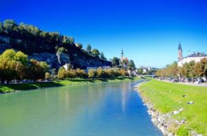 Salzburg on a sunny day