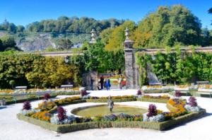 Mozart's Garden Salzburg
