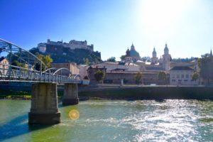 Salzburg from the bridge