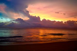 Mt. Lavinia Beach Sunset